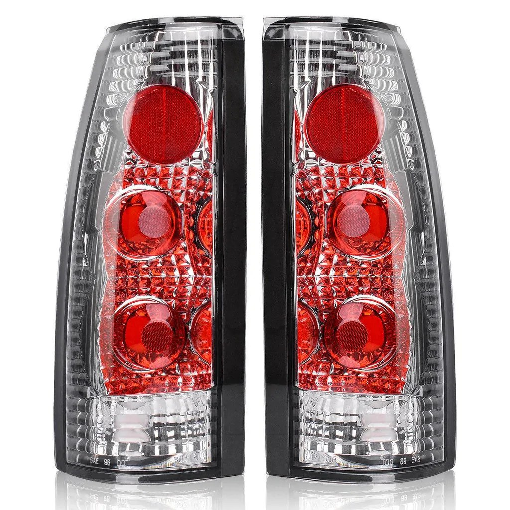 tail lights for 1988 1998 chevy gmc c k 1500 2500 3500 [ 1024 x 1024 Pixel ]