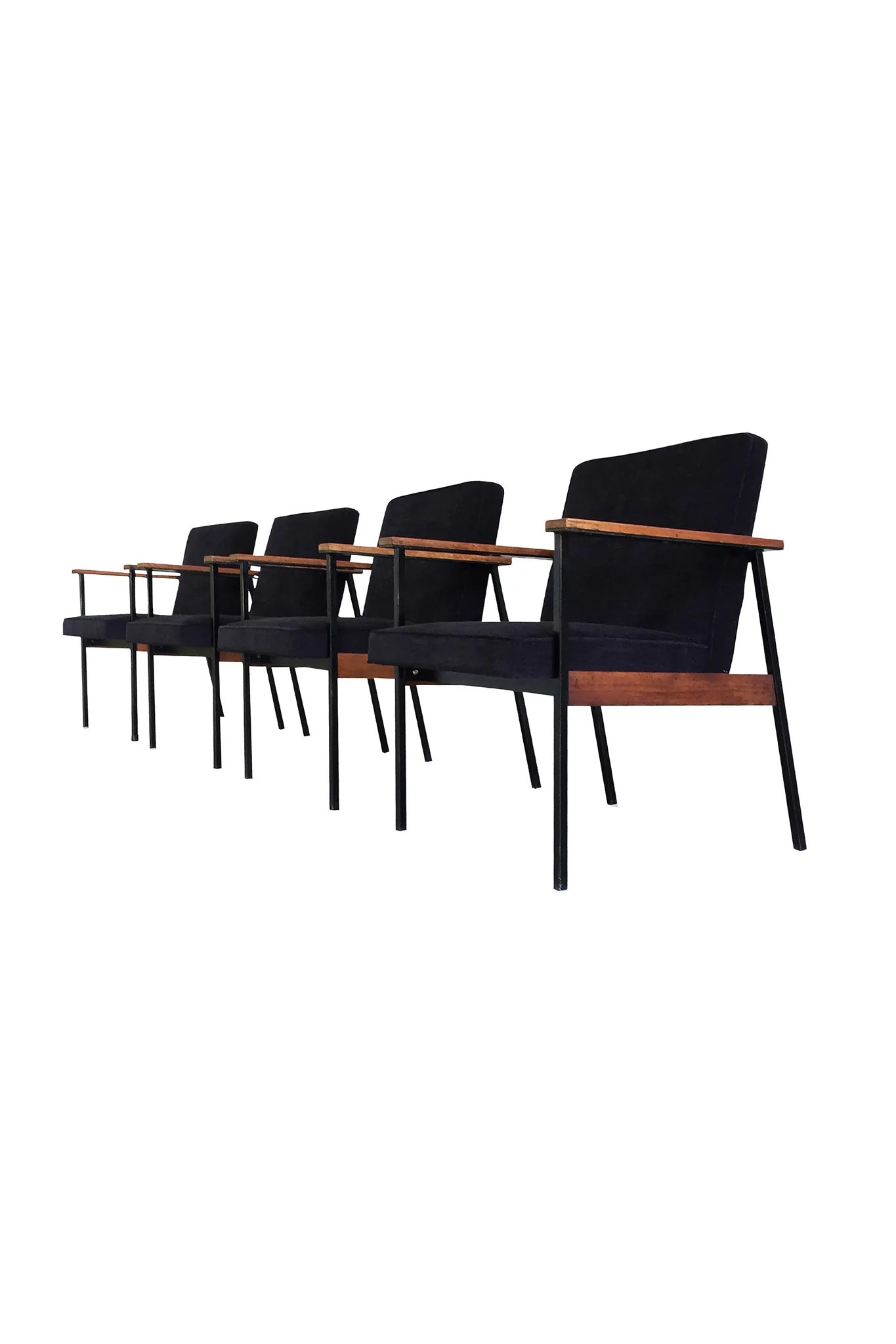Paul Mccobb Chairs Mid Century Modern Office Chairs Attributed To Paul Mccobb A Set Of 4