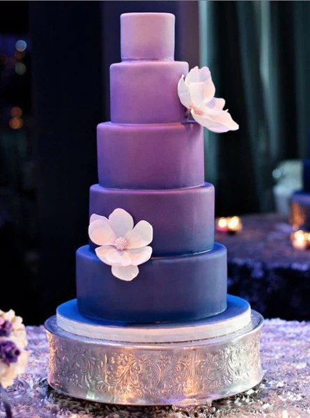 Our Top 5 Fave Purple Wedding Cake Candy Cake Weddings