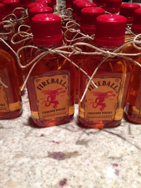 Cinnamon Whisky Wedding Party Favors  Candy Cake Weddings