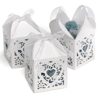 Decorative Wedding Favor Box  Candy Cake Weddings