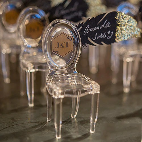 Personalized Wedding Table Decorations