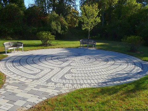 paver brick kits the labyrinth company