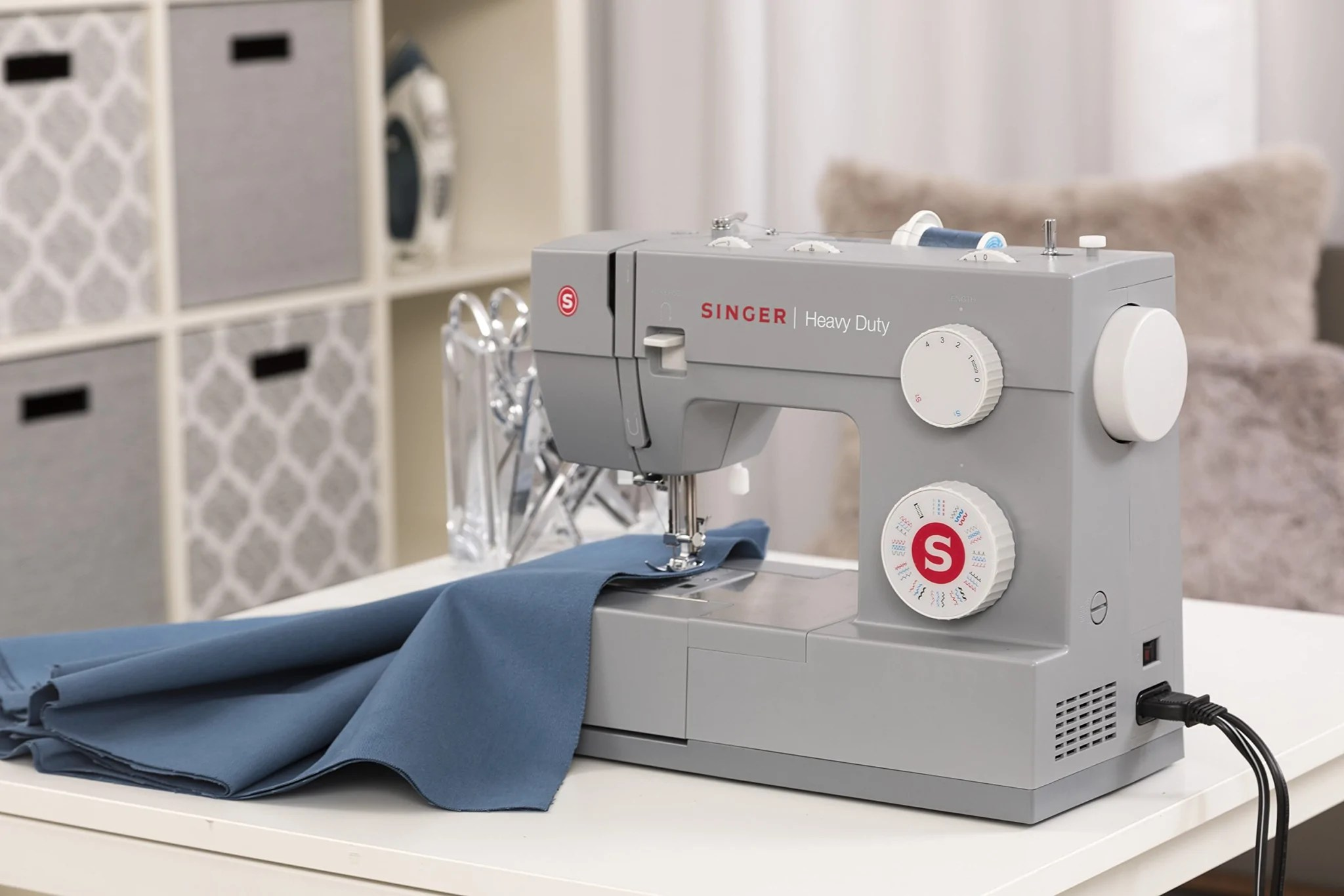 Singer Heavy Duty Sewing Machine 4432 With 32 Stitches Direct Sewing Machines Supplies