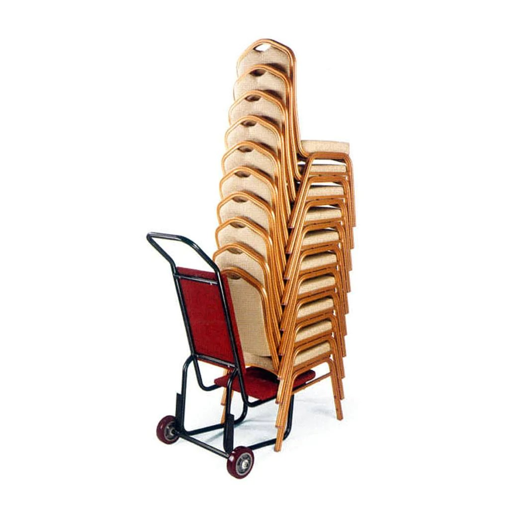 banquet chair trolley comfy outdoor lounge chairs 2 wheel nufurn commercial furniture