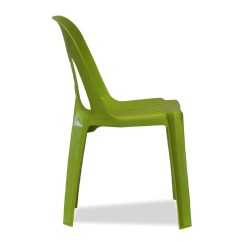 Lime Green Bistro Chairs Swing Chair Pune Plastic Stacking Barrel Nufurn