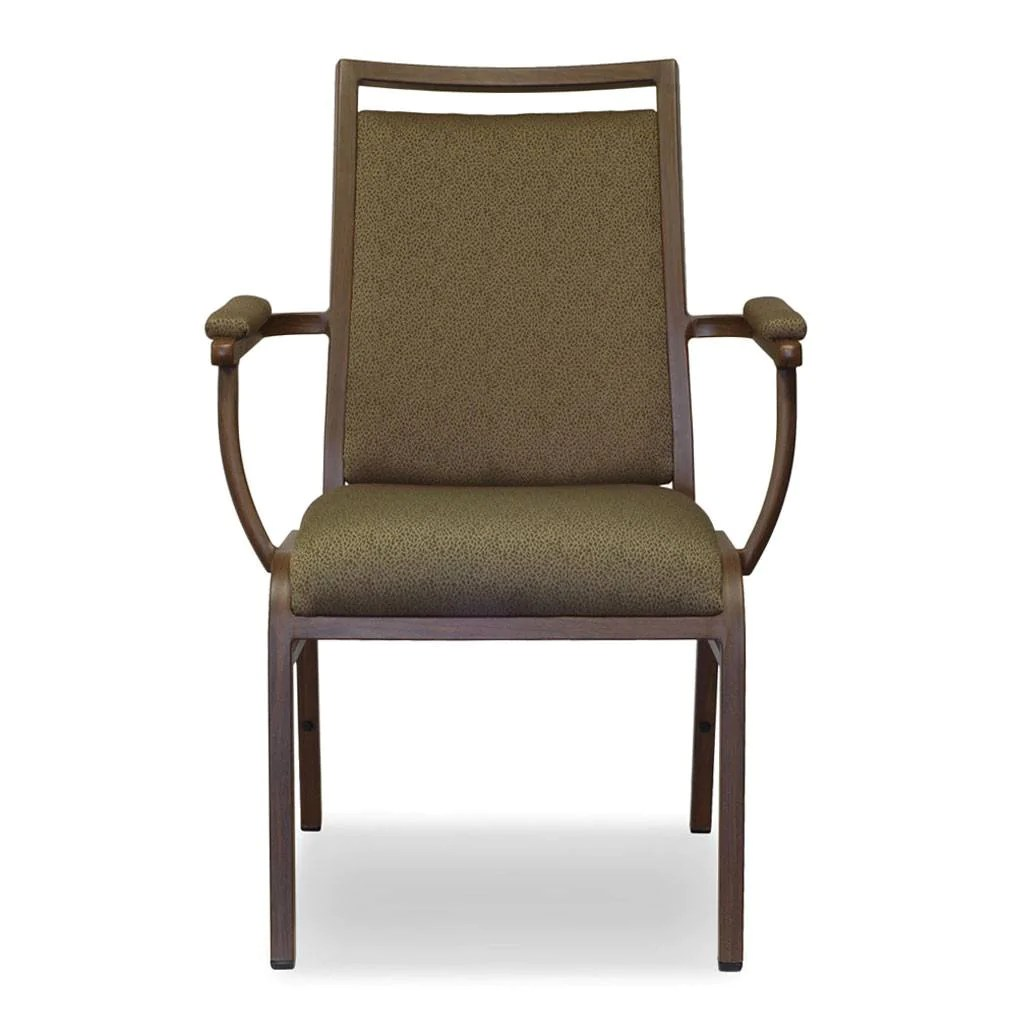 banquet chairs with arms rattan dining argos caversham status icon arm chair plastic stacking