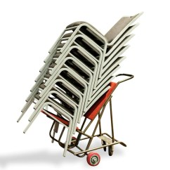 Banquet Chair Trolley With Casters Max 4 Wheel Nufurn Commercial Furniture