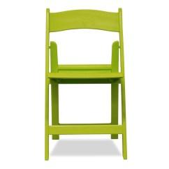 Lime Green Bistro Chairs Reclining Wingback Resin Folding Nufurn Wimbledon Plastic