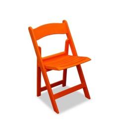 Orange Stackable Chairs Foldable High Chair Resin Folding Nufurn Wimbledon