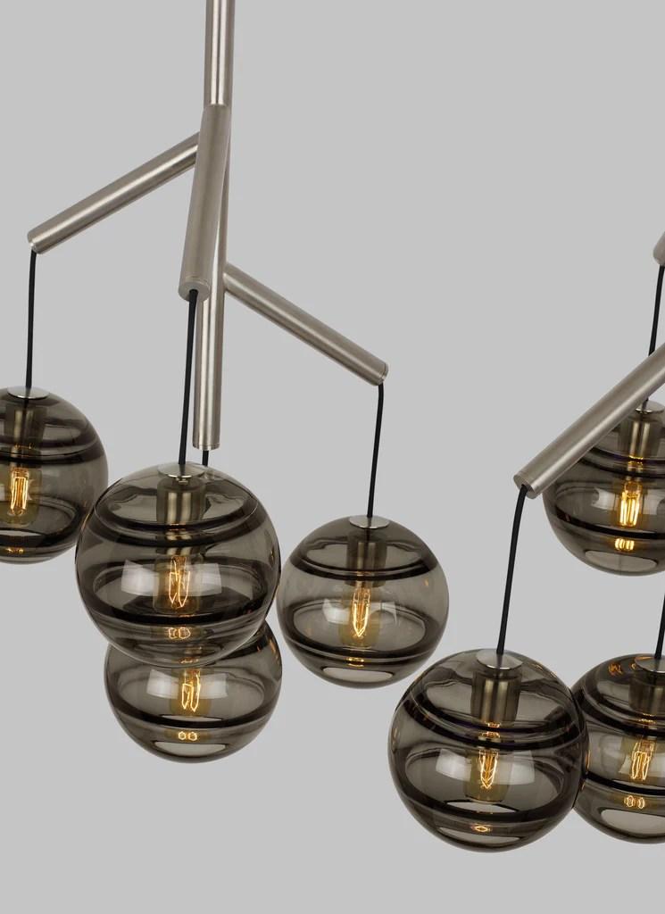 sedona triple chandelier