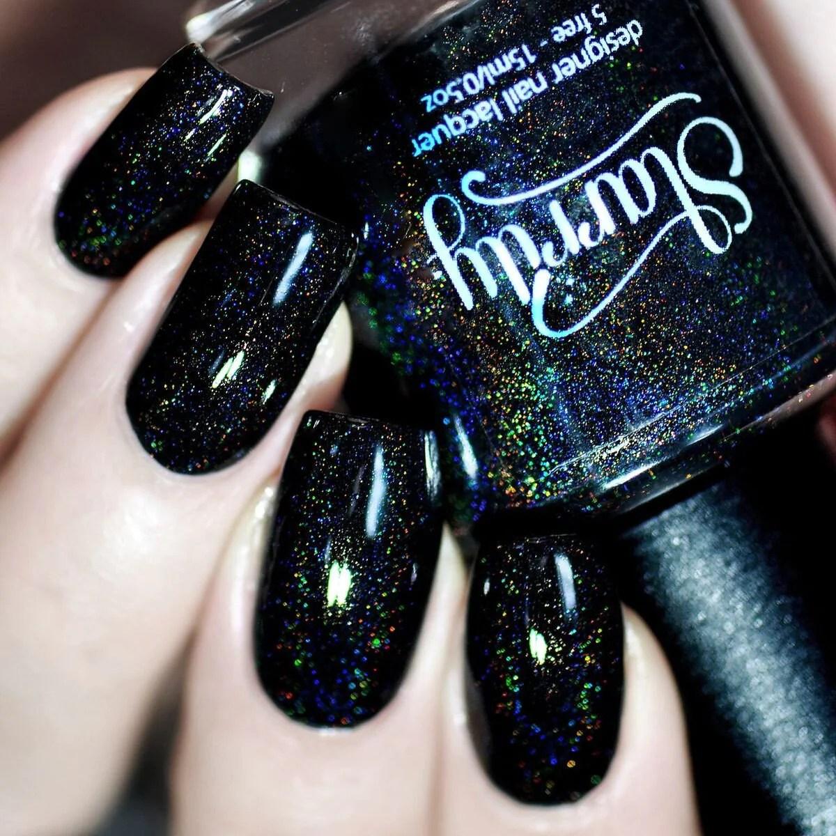starrily black magic - holographic