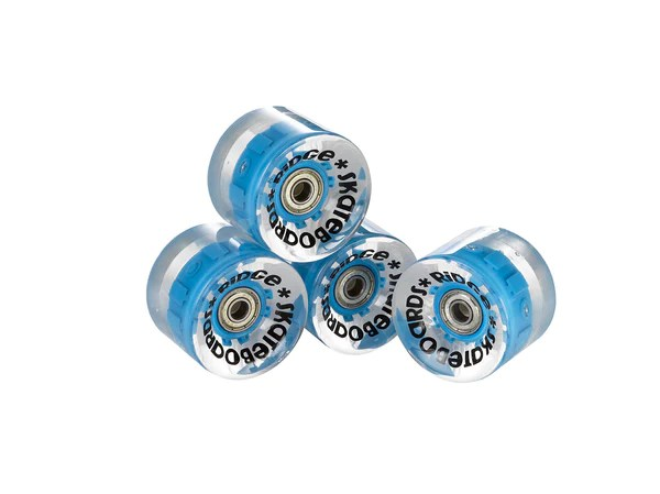 Blue Pink Wheels Penny Board Nickel