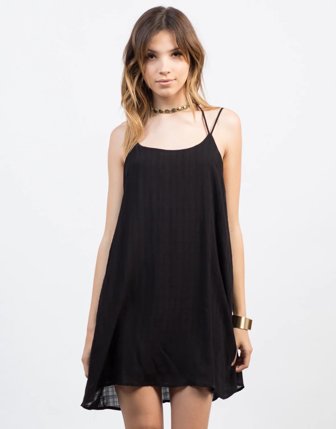 Little Black Dress Halter Top