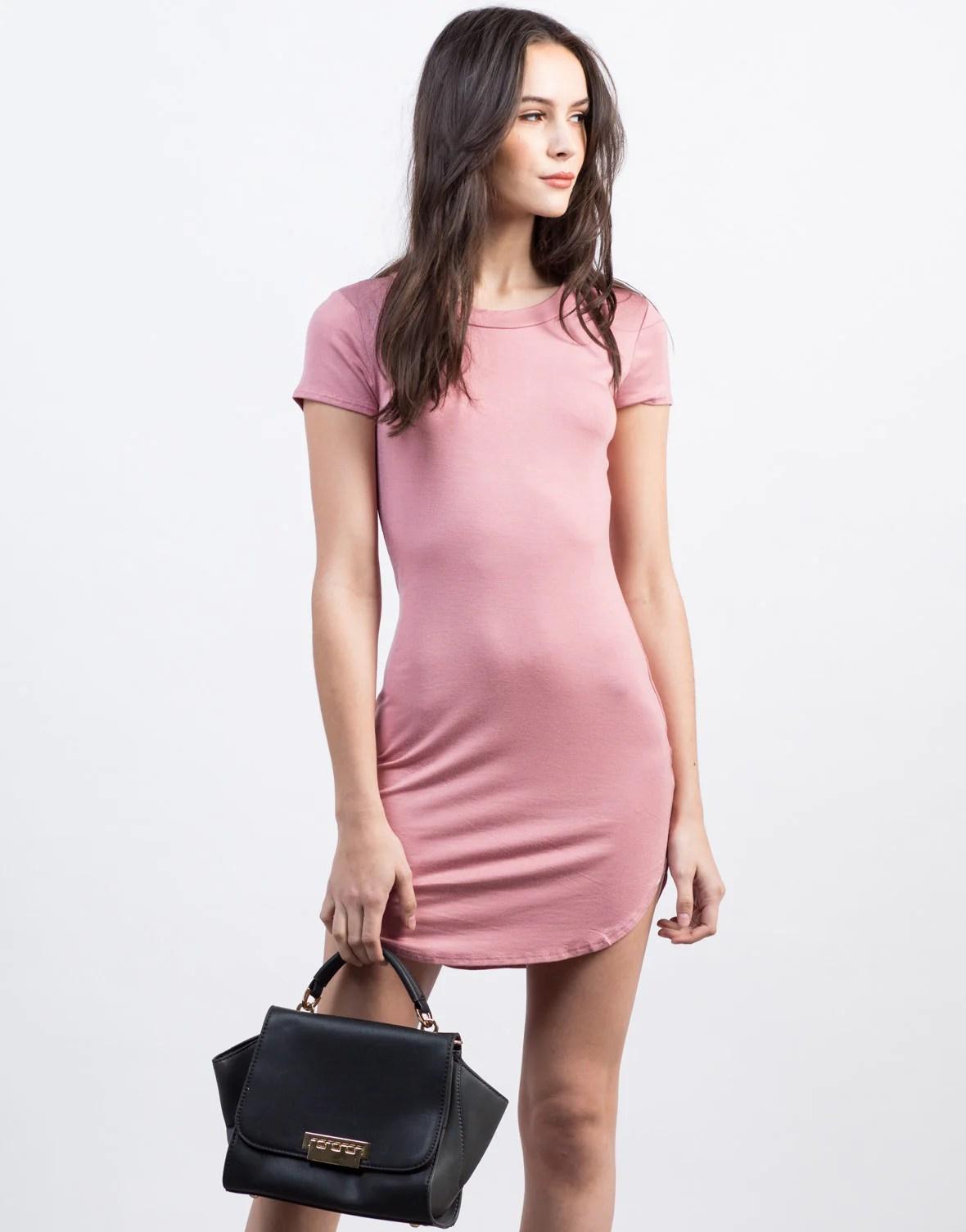 T-Shirt Mini Dresses