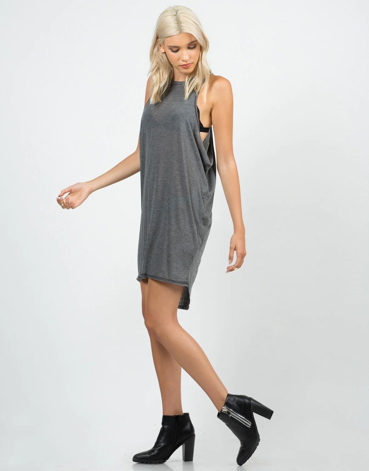 Open Side Dresses