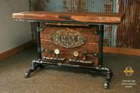 Steampunk Table | Steampunk Furniture Minnesota ...
