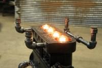 "Steampunk Industrial / Antique Model ""T"" Engine Block ..."