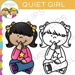 Quiet signal clip art