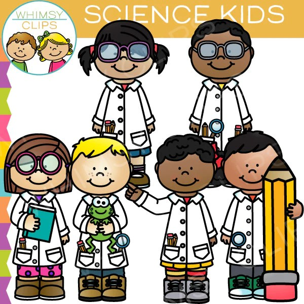 Science Kids Clip Art  Images  Illustrations  Whimsy