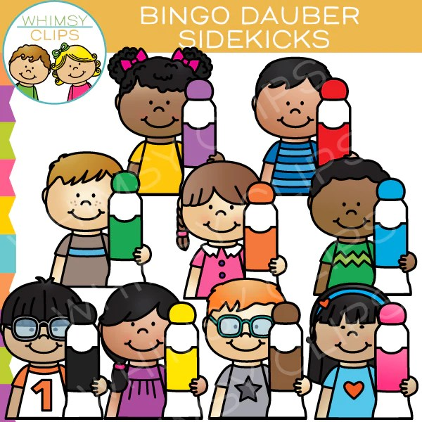Bingo Dabber Sidekicks Clip Art Images Amp Illustrations