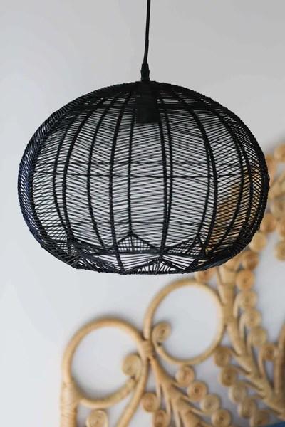Metal Bell Pendant Light