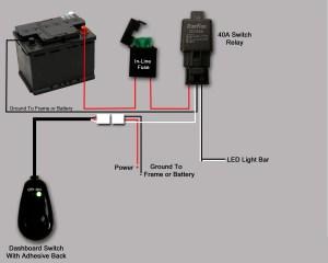 Wiring LED lightbar  help a newbie  Patrol 4x4  Nissan