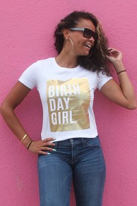 Gold Birthday Shirt: Cute Bday Outfit Idea For Women ...