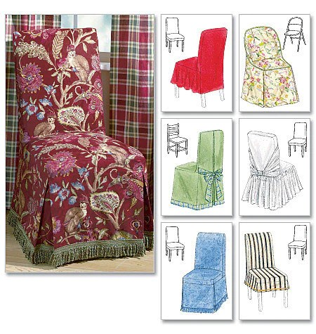McCalls Pattern M4404 Chair Cover Essentials  jaycotts