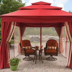 Garden Treasures Patio Chairs Extended Height Office Chair Replacement Canopy For Bhg Archer Ridge Gazebo — The Outdoor Store