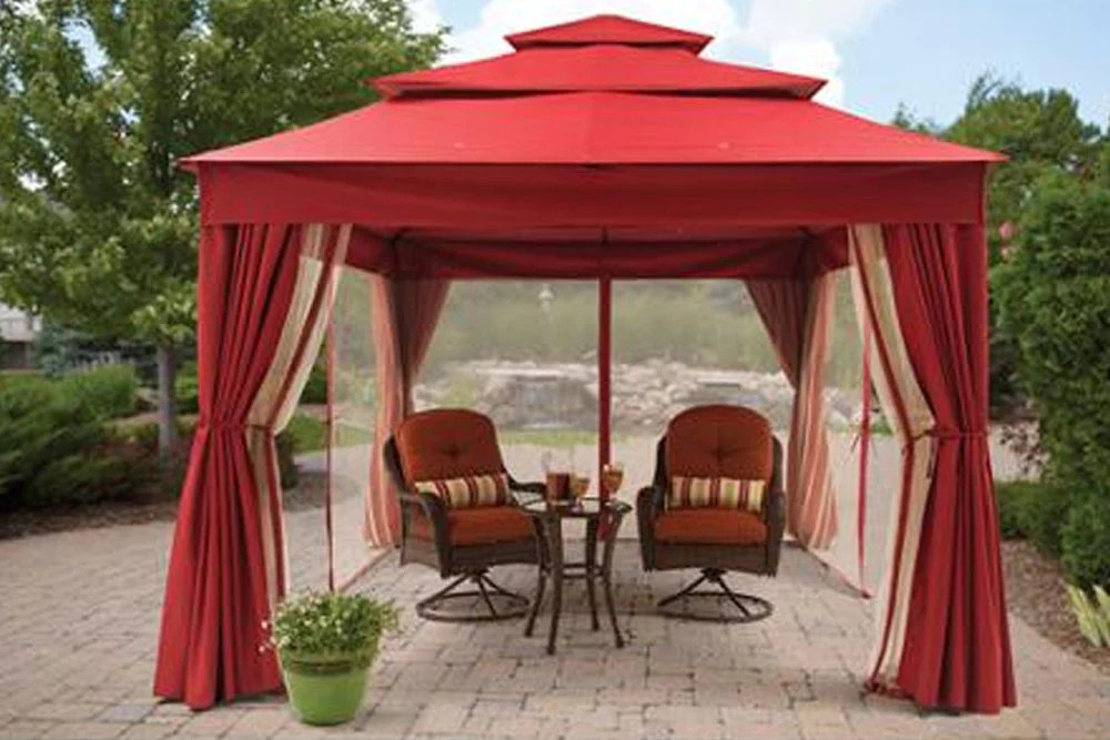 Replacement Canopy for BHG Archer Ridge Gazebo  The