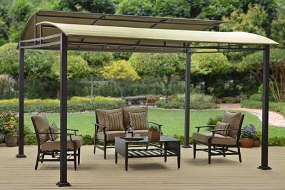 Replacement BHG Sawyer Cove 12x10 FT Barrel Roof Gazebo