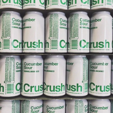 10 Barrel Cucumber Crush Can Monday New Amp Back In Stock
