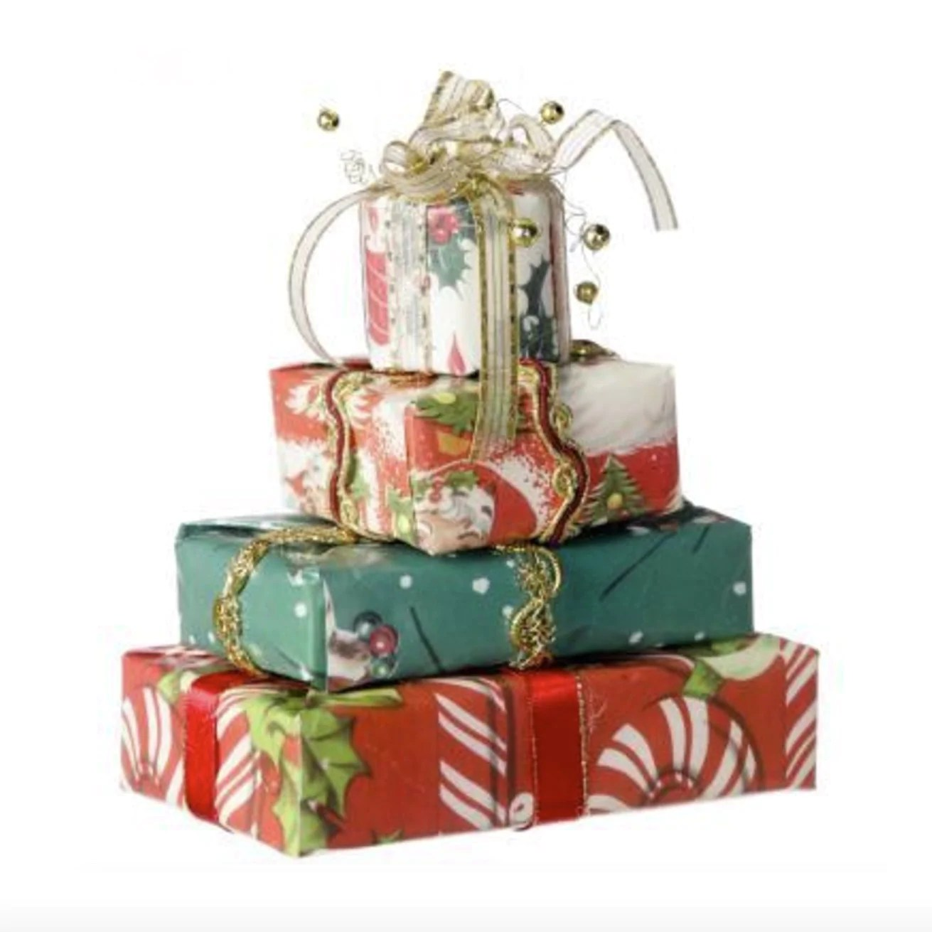 stack of gifts paper