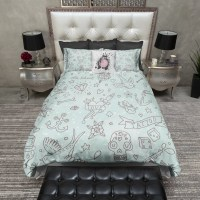 Rockabilly Love Tattoo Duvet Bedding Sets - Ink and Rags