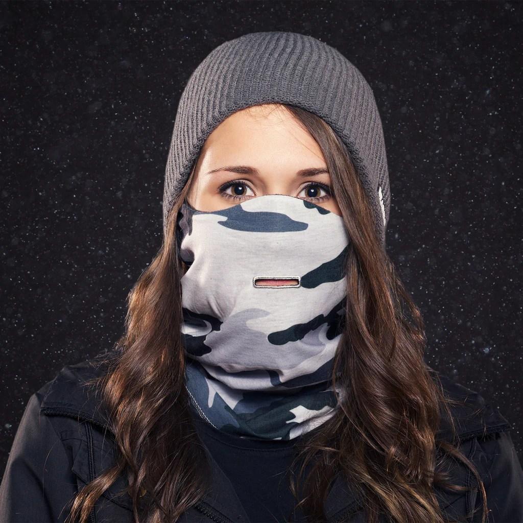 Camoflage Ski Mask Beardo