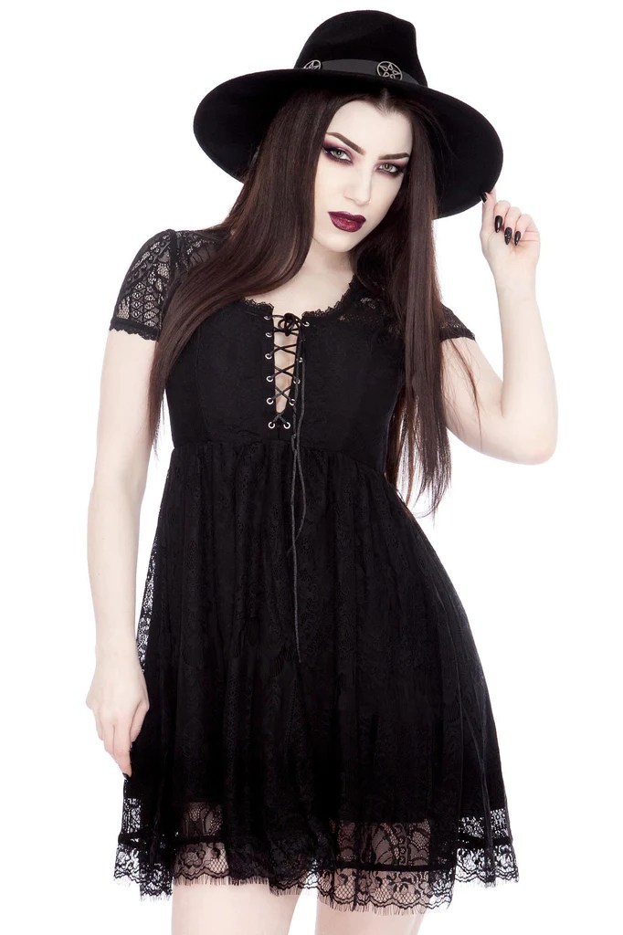e4b489676b Bella Morte Lost Babydoll Dress  B  Killstar