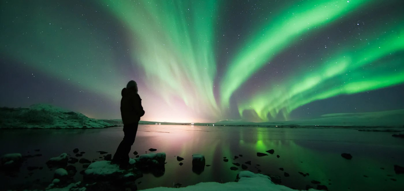 northern lights made by