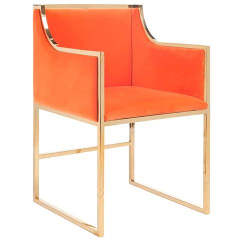 Louis xvi chair orange myideasbedroom com