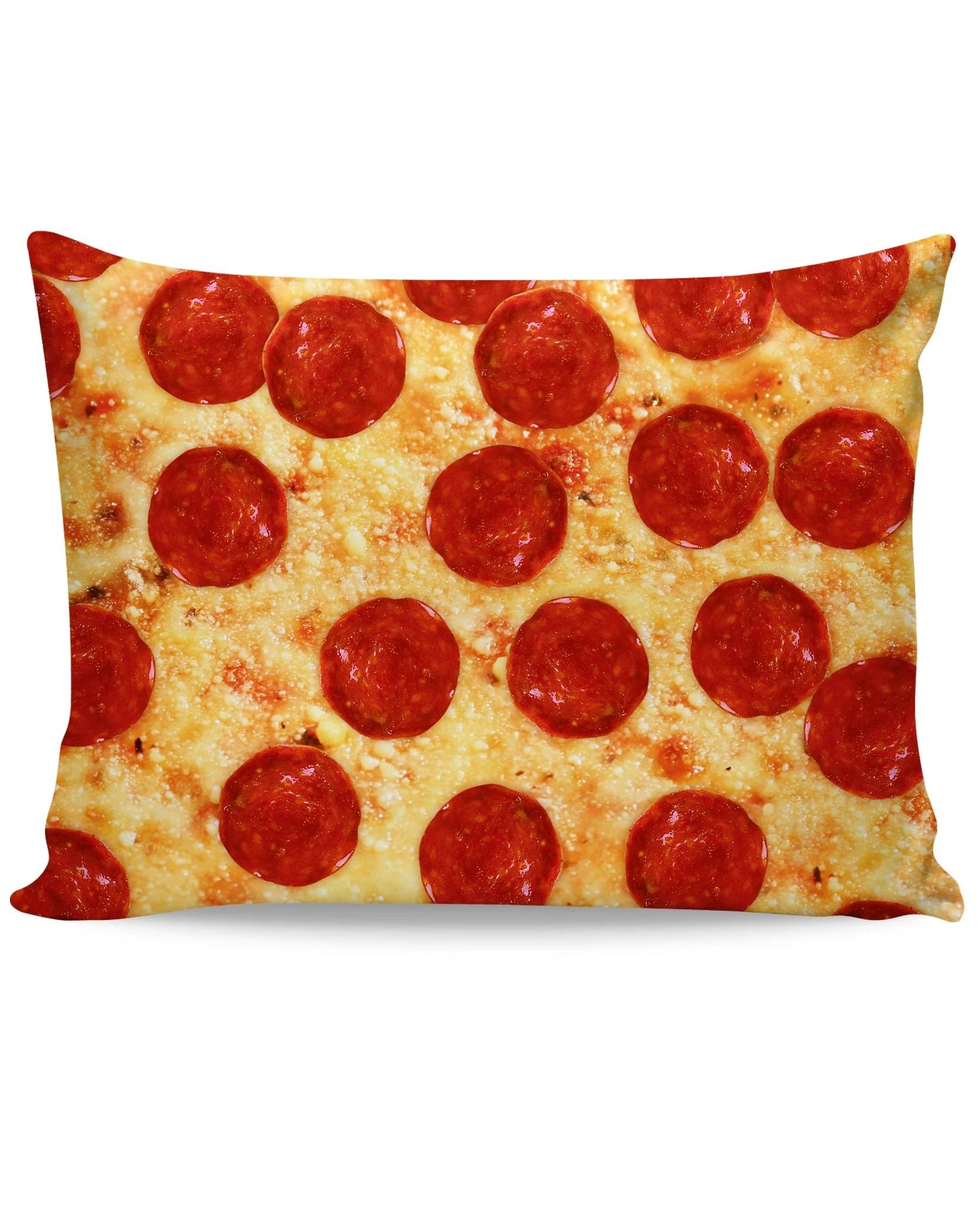 pizza pillow case