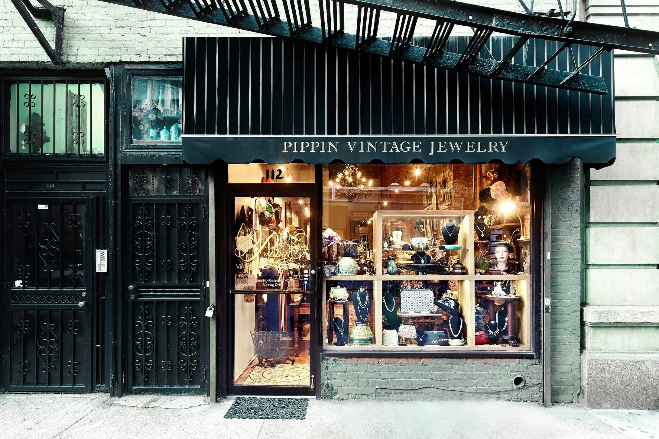Pippin Vintage Jewelry   Brick and Mortar Store in Chelsea. NY 10011