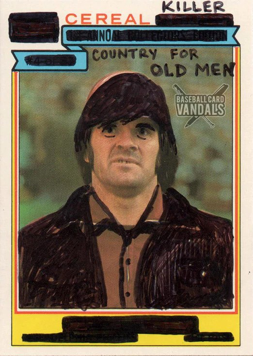 No Country For Old Men Haircut : country, haircut, Country, Baseball, Vandals