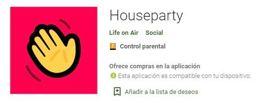 Houseparty - app para videollamadas divertidas