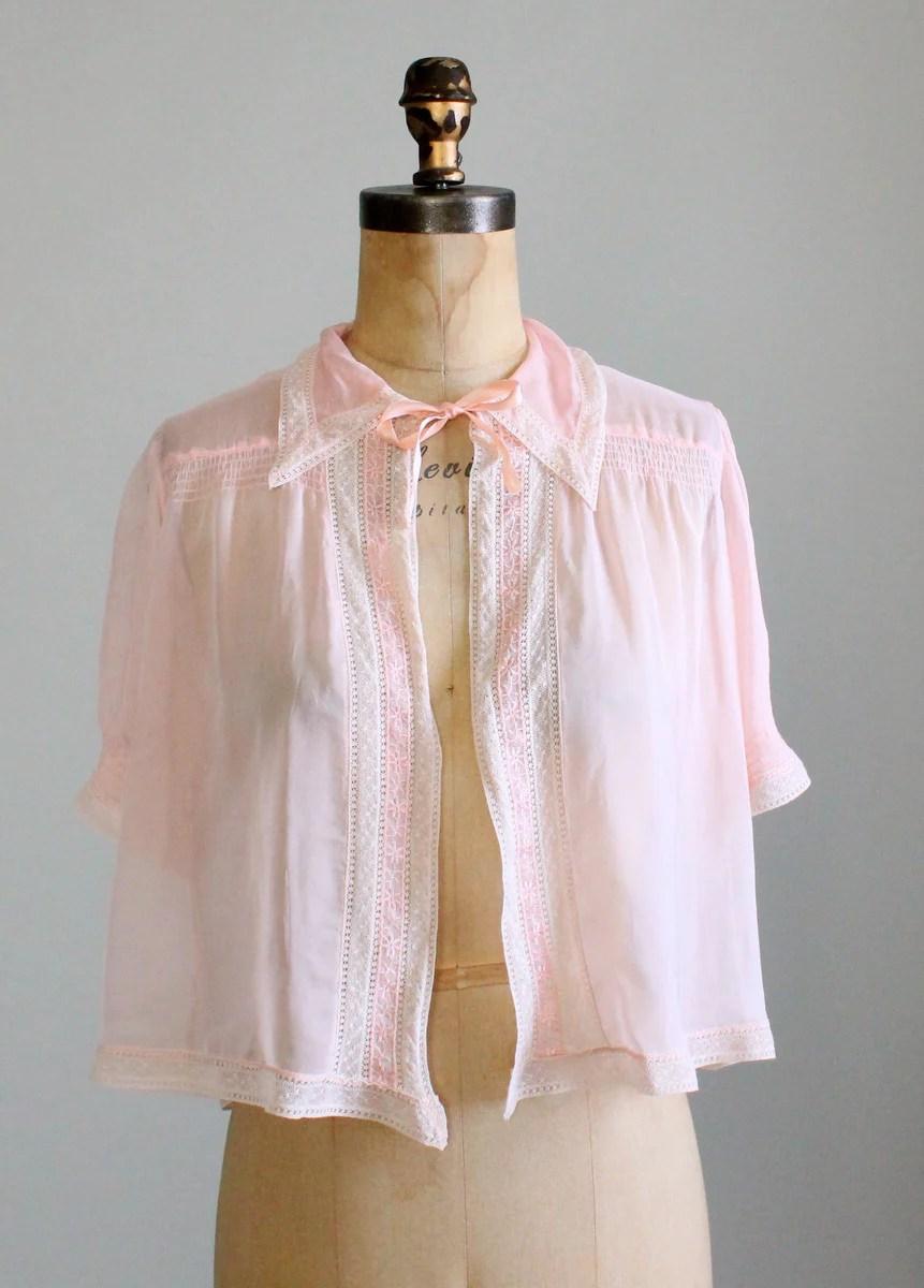 Bed Jacket Vintage : jacket, vintage, Vintage, 1940s, Jacket, Raleigh