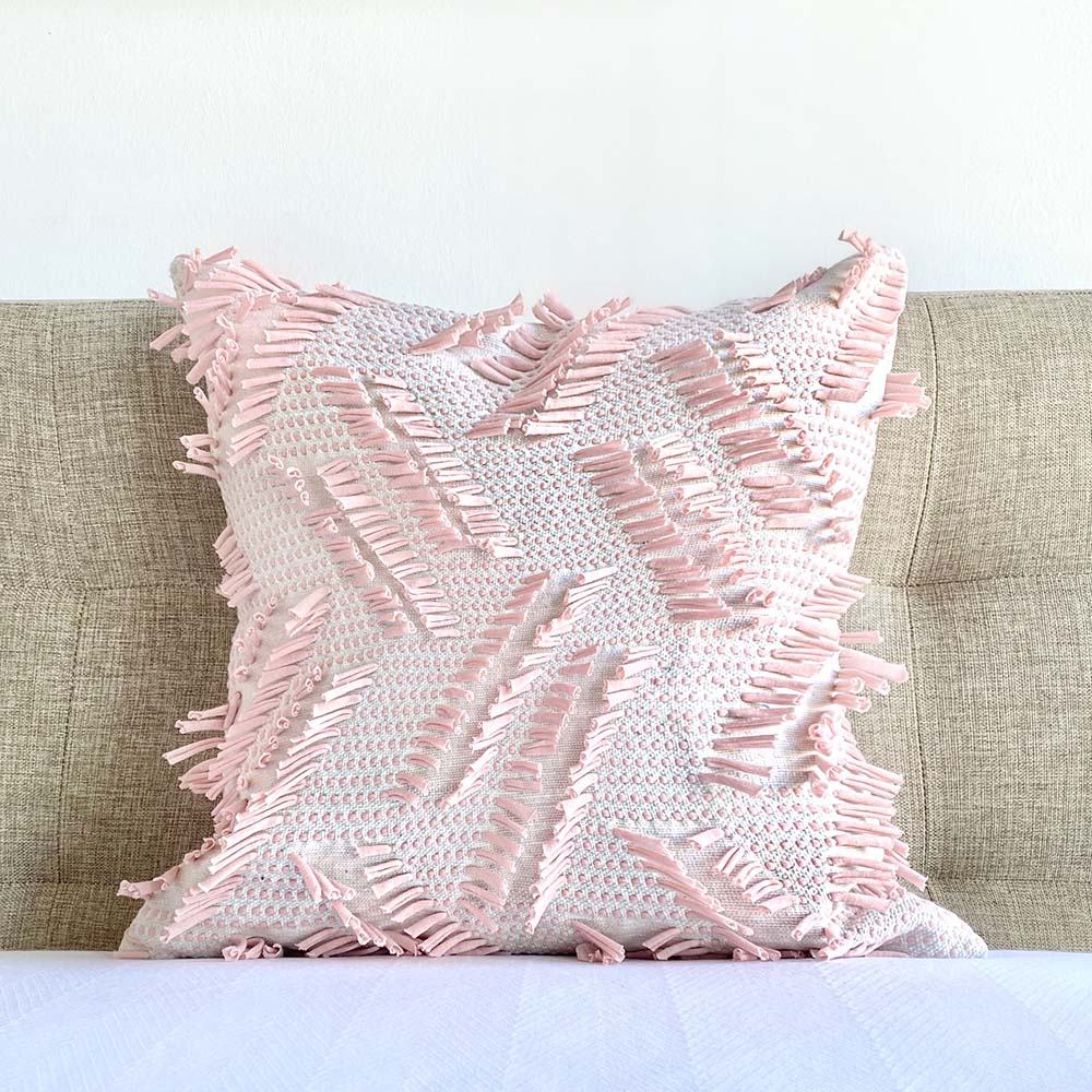 pink boho pillow online