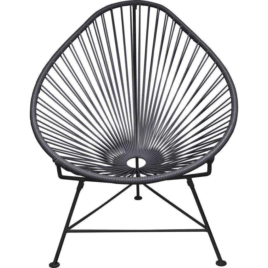 innit acapulco chair walmart rolling designs junior black base sportique grey