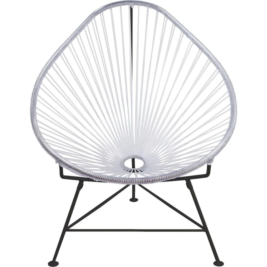 innit acapulco chair grey parsons designs junior black base sportique