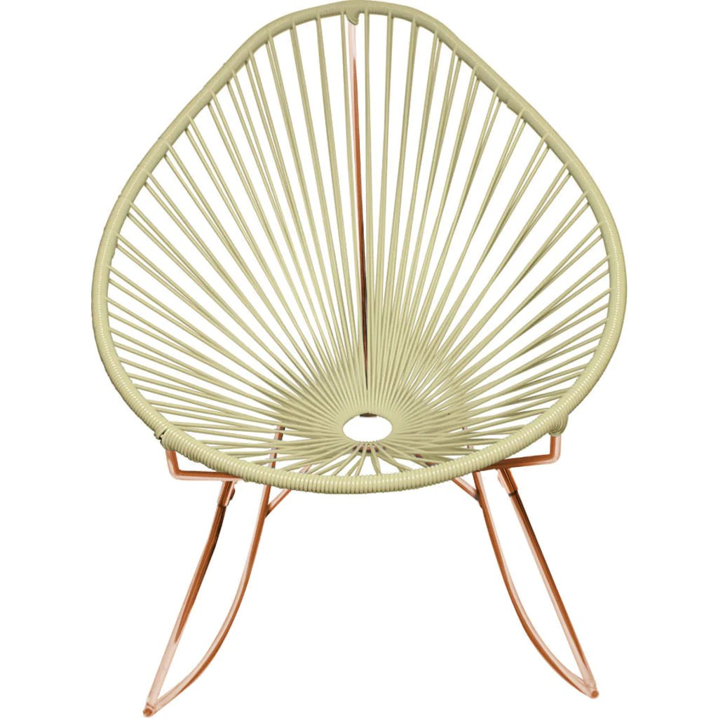 innit acapulco chair rattan chairs for sale designs junior rocker copper base