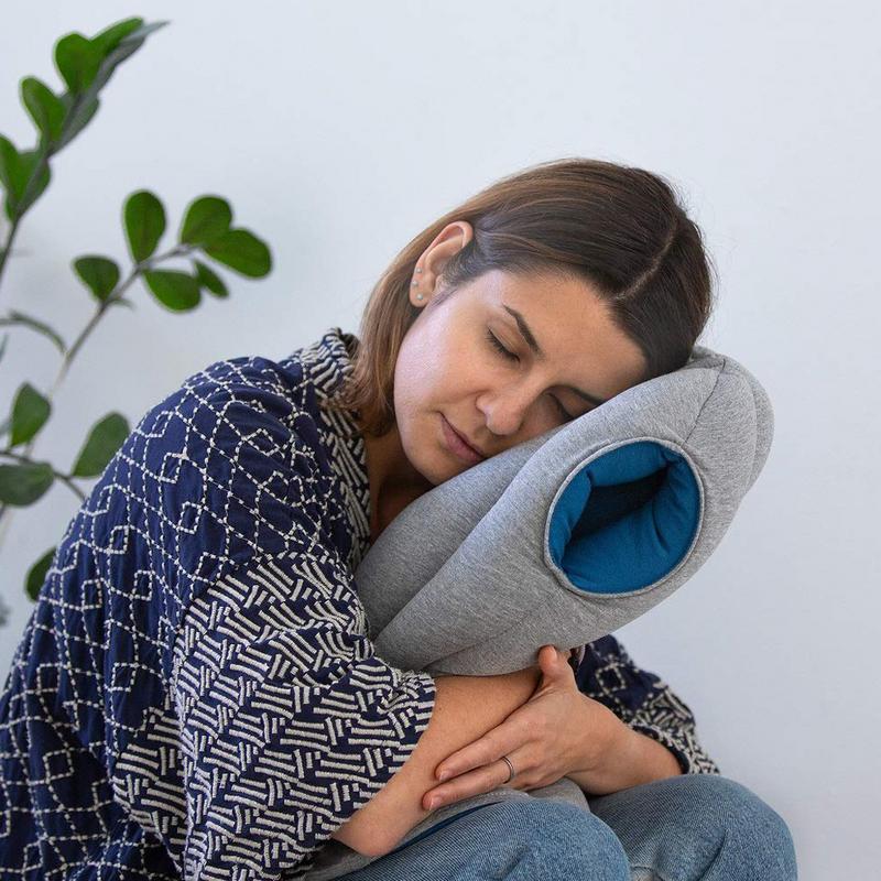 ostrichpillow original travel cocoon pillow