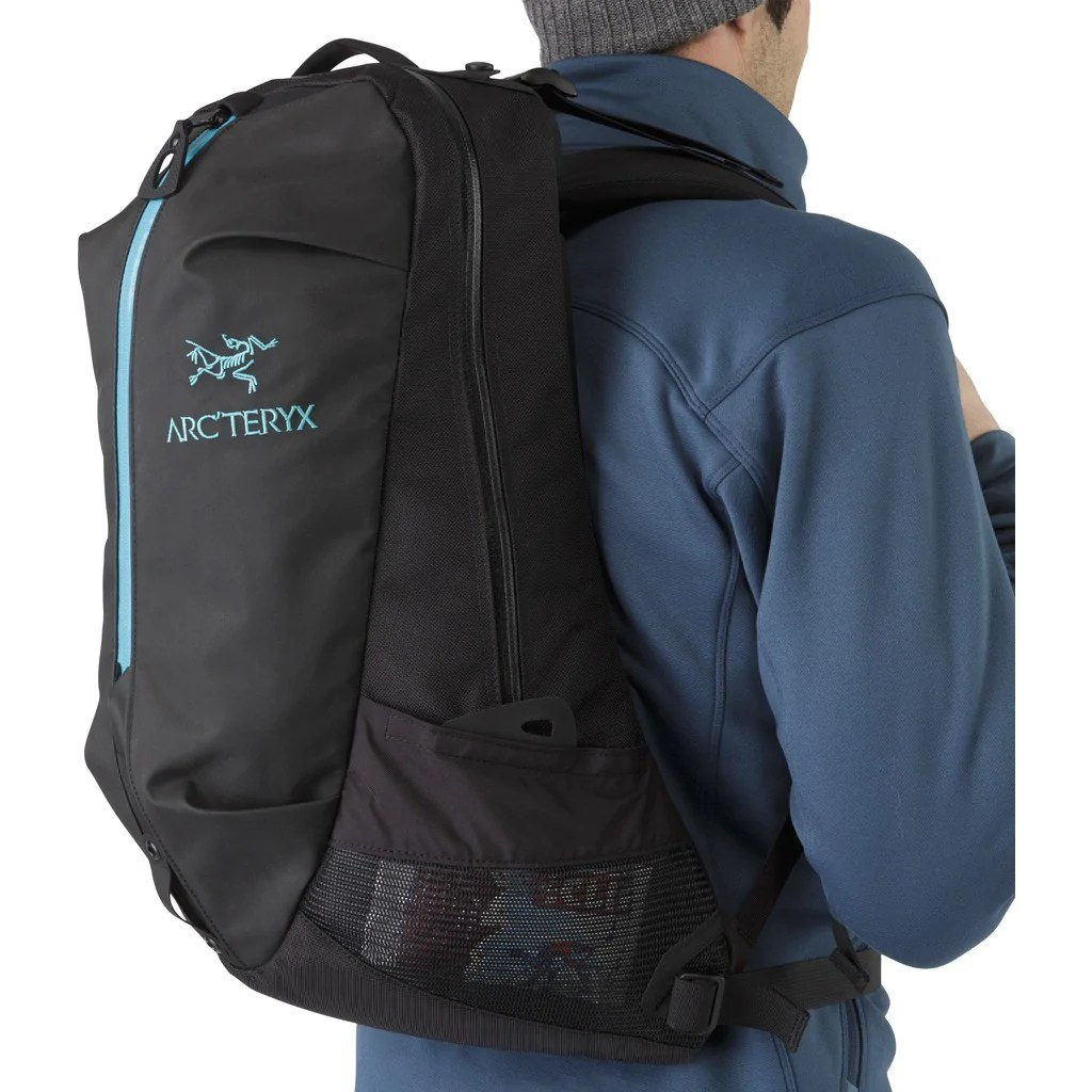 Arc'teryx Arro 22 Backpack Black/Blue Tetra 226426 - Sportique